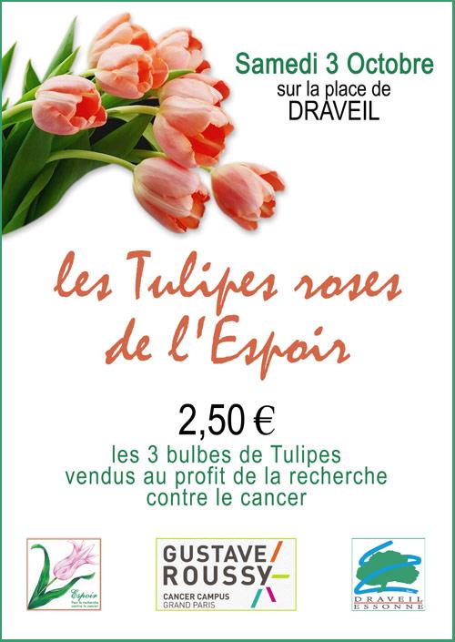 Les Tulipes Roses de l'Espoir